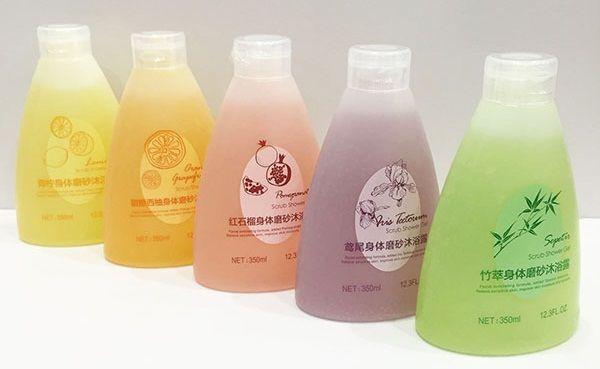 Gel tắm tẩy da chết Miniso có nhiều các loại hương cho bạn lựa chọn