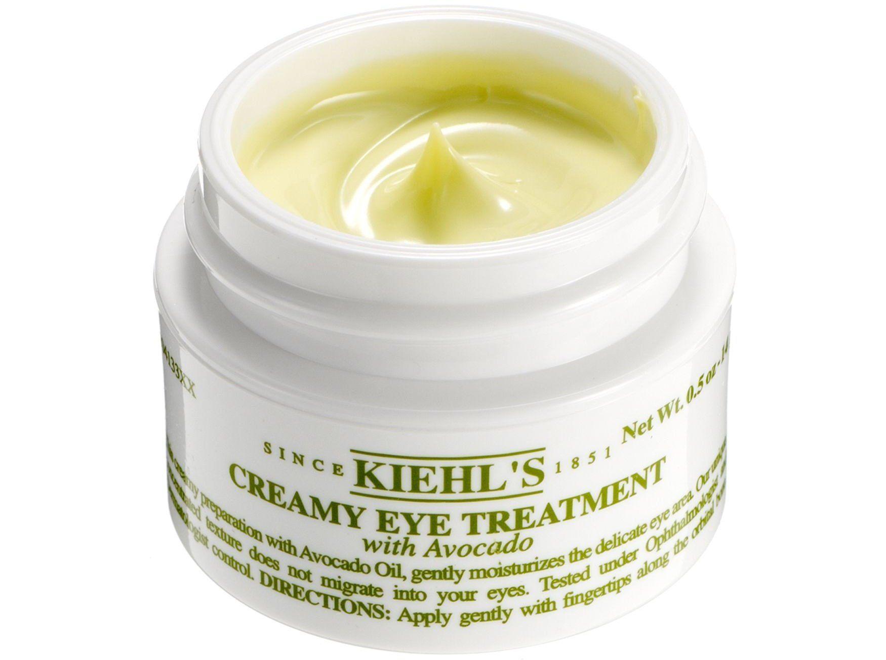 Kem dưỡng mắt Kiehl's Creamy Eye Treatment với chiết xuất quả bơ