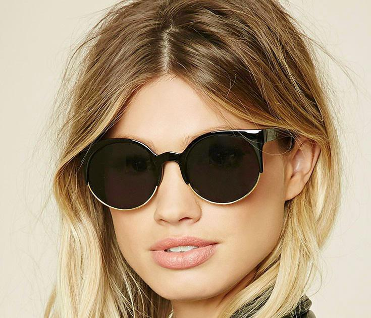 Kính mắt f21 Browline Cat Eye Sunglasses 1000250743