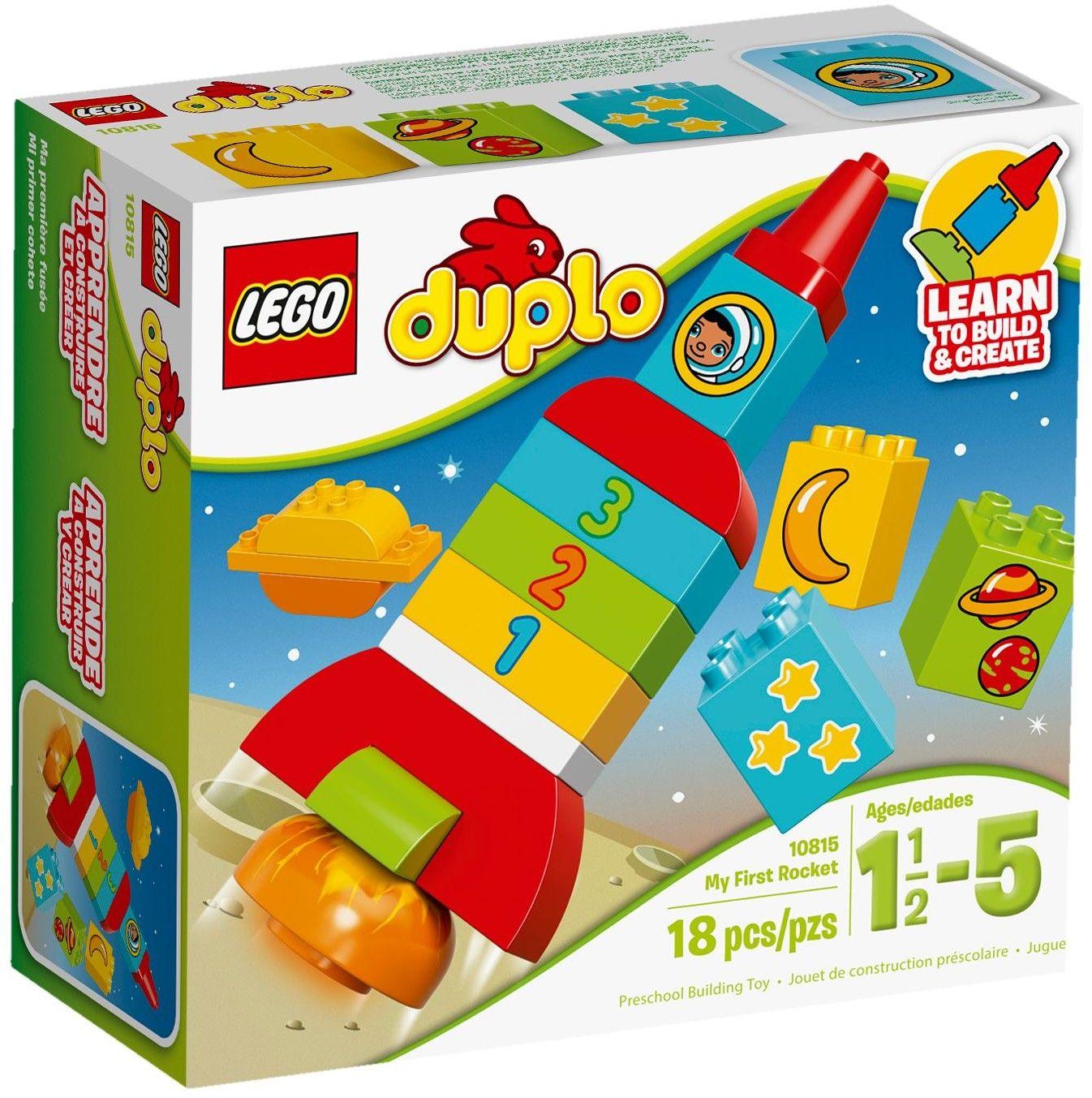 Bộ xếp hình Lego giúp bé hình thành kỹ năng đếm, nhận biết mặt số và những hình ảnh khác