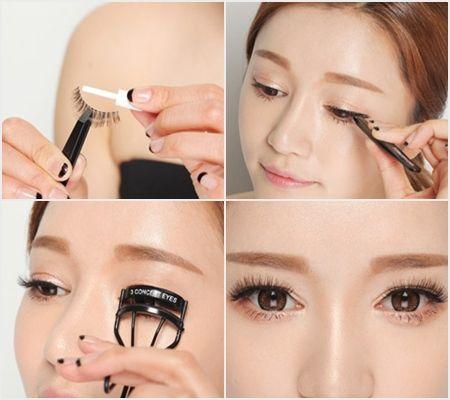 Mi giả Pro Eyelashes The Face Shop dài cong quyến rũ 3