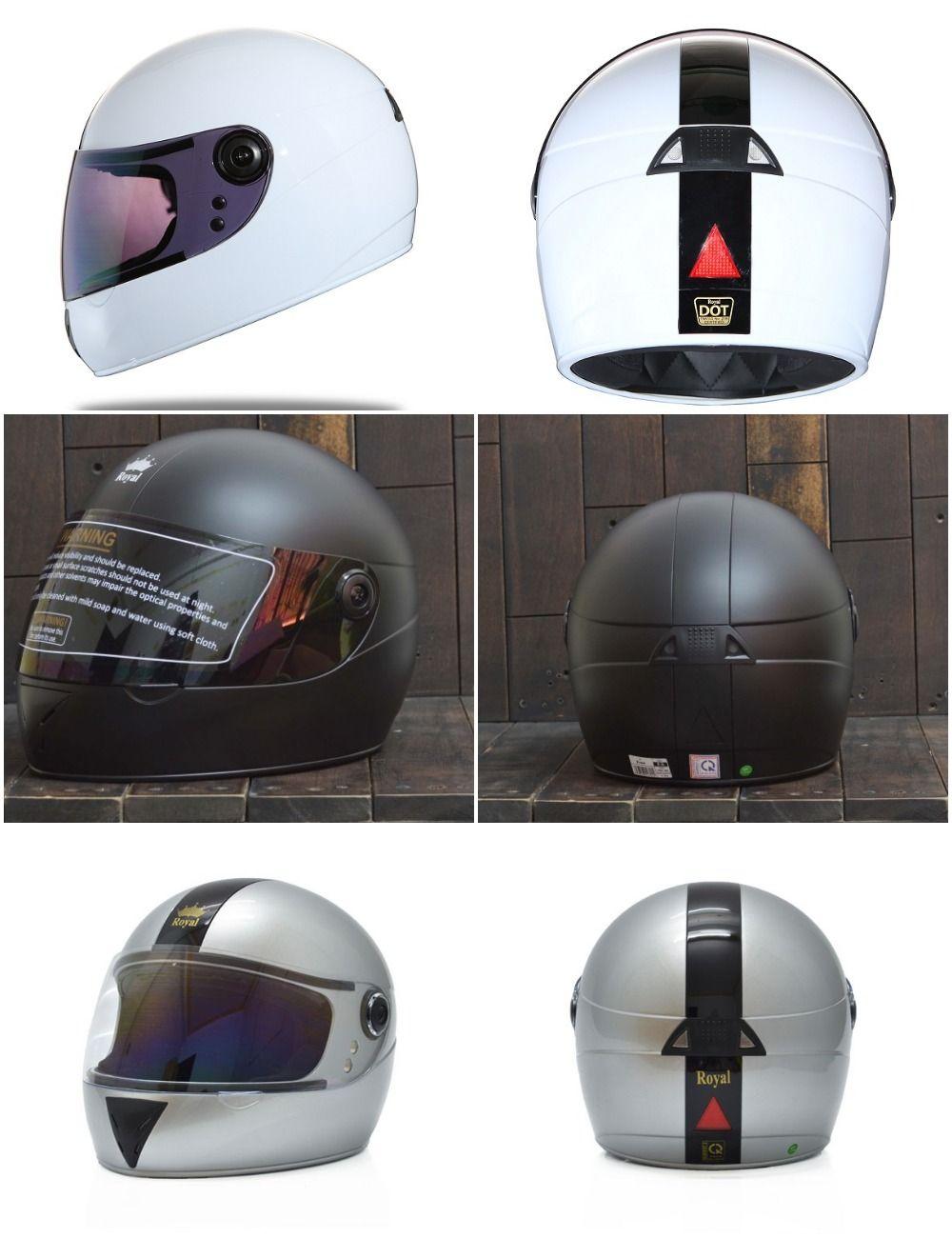 Mũ bảo hiểm nguyên đầu Royal M02 có nhiều màu sắc cho bạn lựa chọn