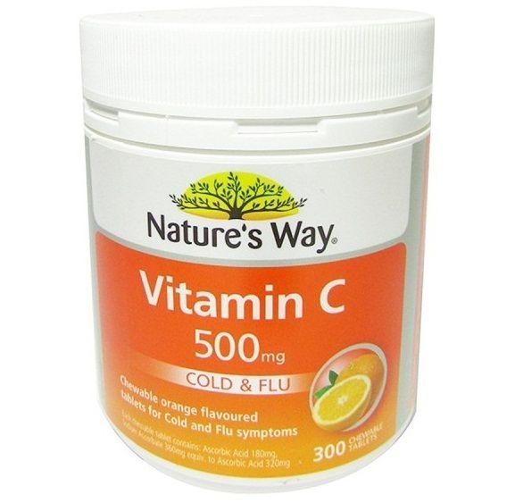 Vitamin C Nature's Way tăng cường sức đề kháng phòng cảm cúm