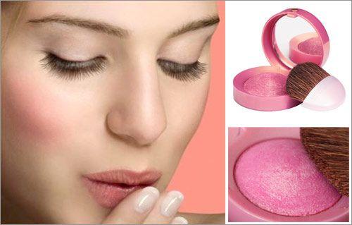 Phấn má hồng Bourjois Blush kèm gương và chổi quét 2