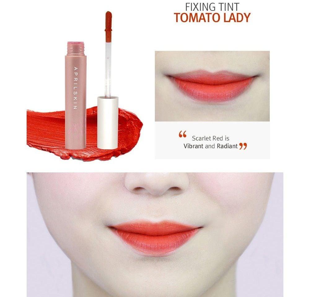 Màu đỏ cà chua tinh tế, quyến rũ