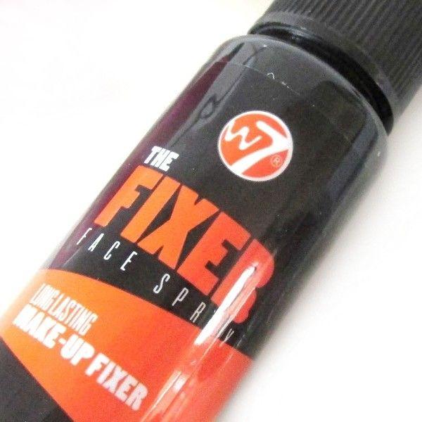 Xịt khoáng giữ lớp trang điểm W7 The Fixer Face Spray 3