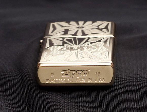 Bật lửa Zippo 28450 Ornament High Polish Brass 2