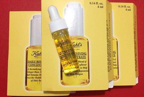Làn da bạn sẽ trẻ khoẻ hơn và tươi hơn, căng tràn sức sống đến tận cuối ngày với vài giọt tinh chất dưỡng da Kiehls