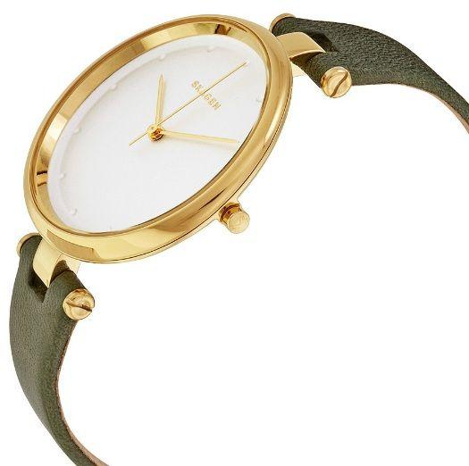Case đồng hồ mảnh, mạ vàng sang trọng