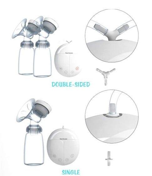Máy hút sữa điện đôi Real Bubee giá rẻ