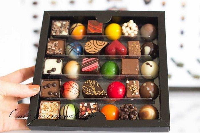 Chocolate Karmello là món quà được ưa chuộng trong các dịp lễ