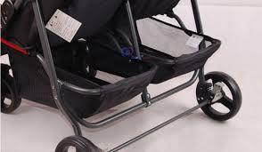 Xe đẩy cho bé sinh đôi Seebaby T22 6
