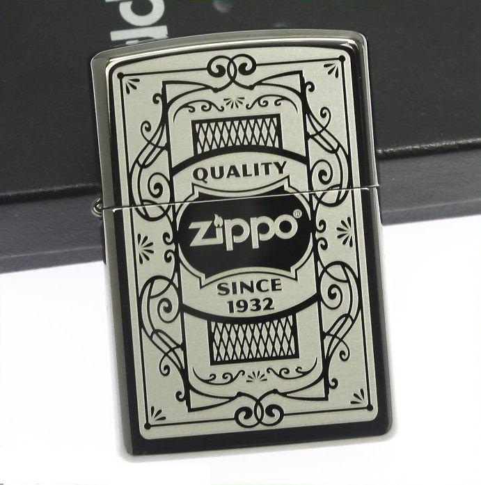 Bật lửa Zippo 29425 Quality Black Ice 1
