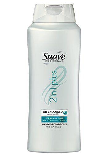 Dầu gội Suave 2 in 1 Plus 828ml của Mỹ kết hợp gội và xả thuận tiện cho người sử dụng