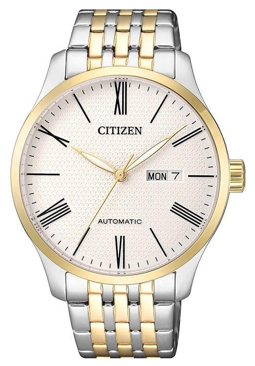 Chiếc đồng hồ Citizen nam NH8354-58A mang vẻ ngoài lịch lãm, nam tính