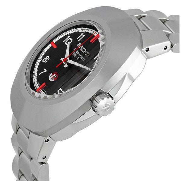 Case đồng hồ dày dặn giúp chiếc đồng hồ trở nên nam tính, mạnh mẽ hơn
