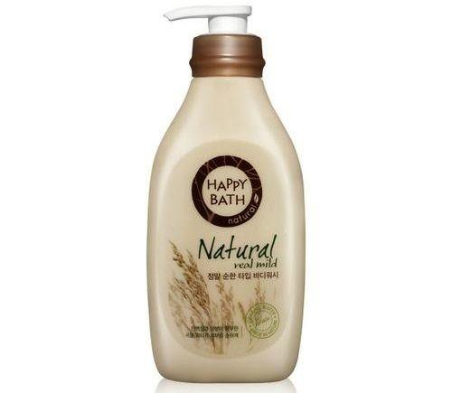 Sữa Tắm Happy Bath Natural Real Mild chiết xuất gạo