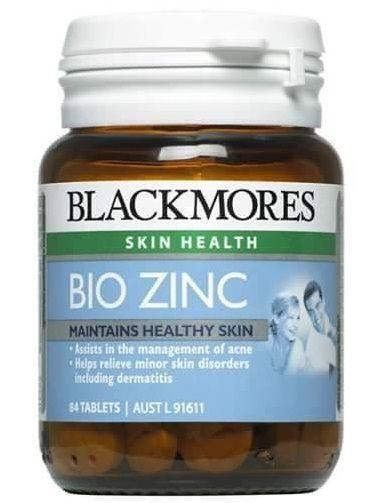 Viên Kẽm tự nhiên Blackmores Bio Zinc 84 viên của Úc
