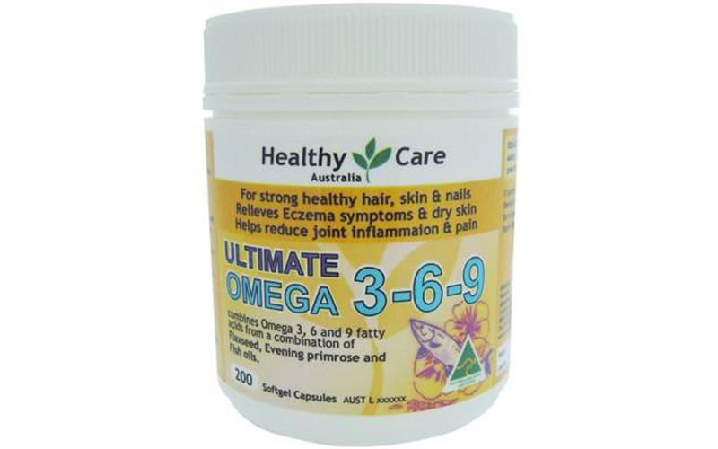 Omega 3 6 9 Healthy Care Ultimate Của Úc (200 Viên)