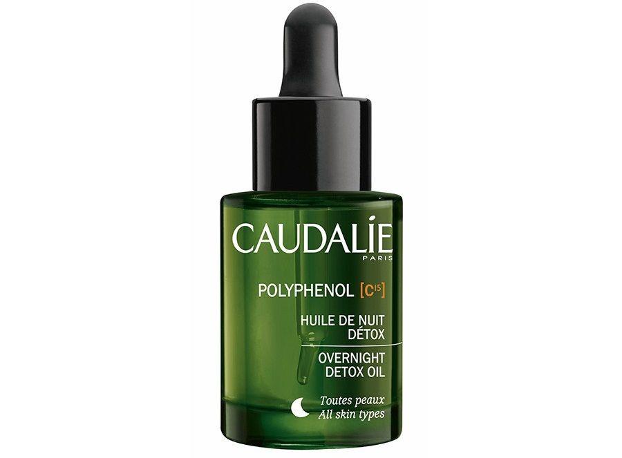 Detox Oil Caudalie Polyphenol C15 Overnight là sản phẩm dầu khô từ 100% thành phần thiên nhiên