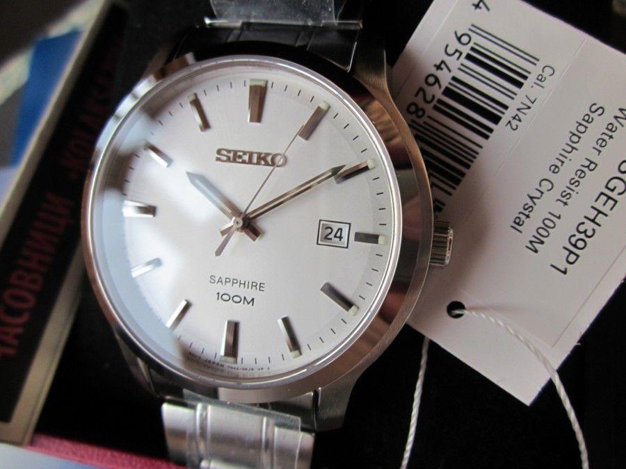 Cận cảnh chiếc đồng hồ Seiko nam SGEH39P1