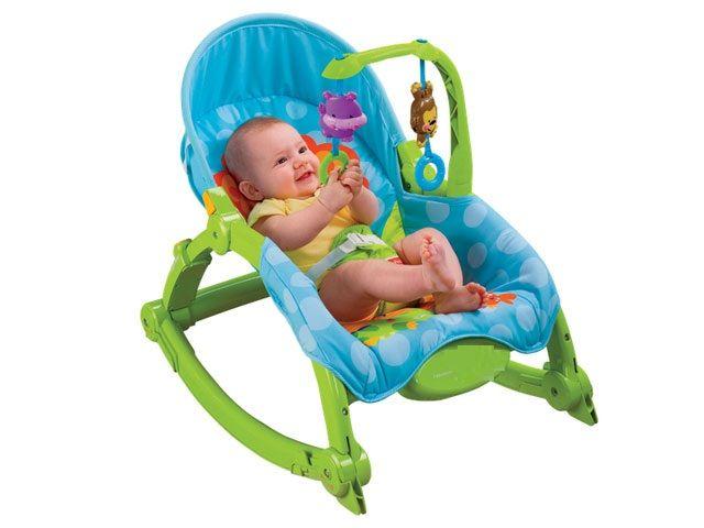 Ghế rung w2811 cho bé 0-4 tuổi 1