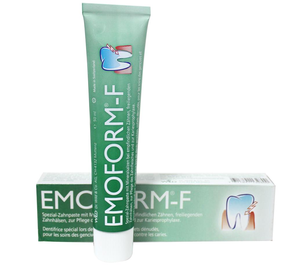 Kem đánh răng Emoform – F chính là giải pháp chăm sóc răng miệng đặc biệt nhờ muối khoáng