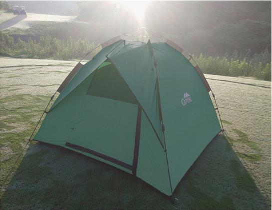 Lều cắm trại 4 người Gefuhl màu xanh