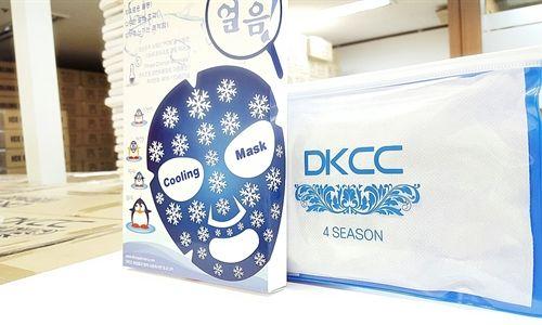 Mặt nạ đá lạnh DKCC Ice Cooling Mask mát lạnh, sảng khoái đang là sản phẩm siêu hot được các chị em lựa chọn