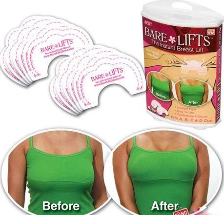 Miếng dán nâng ngực giúp phù phép vòng 1 của bạn cao vút, căng tròn, quyến rũ.