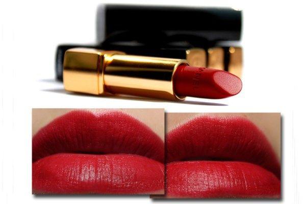 Son môi Chanel Rouge Allure Velvet 38 La Fascinante là dòng son lỳ nhưng lên môi rất mềm và mịn, không tạo rãnh trên môi