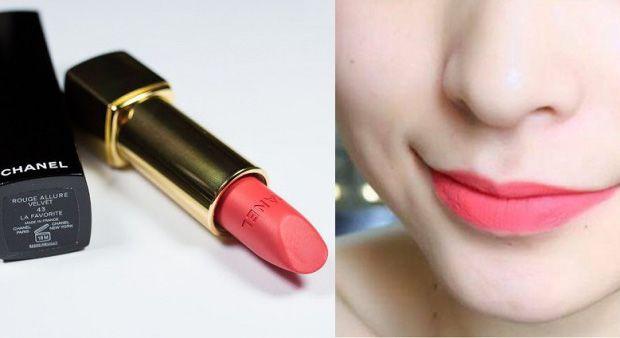 Son môi Chanel Rouge Allure Velvet màu 43 La Favorite phù hợp với mọi hoàn cảnh, mọi màu da