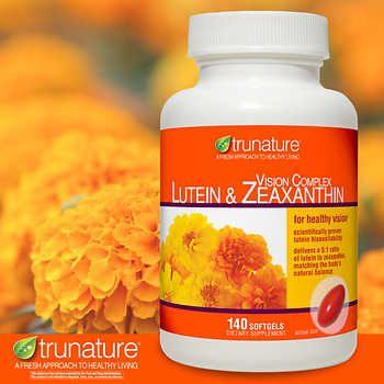 Viên Uống Bổ Mắt Trunature Lutein & Zeaxanthin 140 Viên