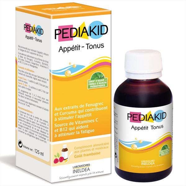 Vitamin Pediakid Appetit Tonus hỗ trợ kích thích trẻ ăn ngon, phát triển khỏe mạnh