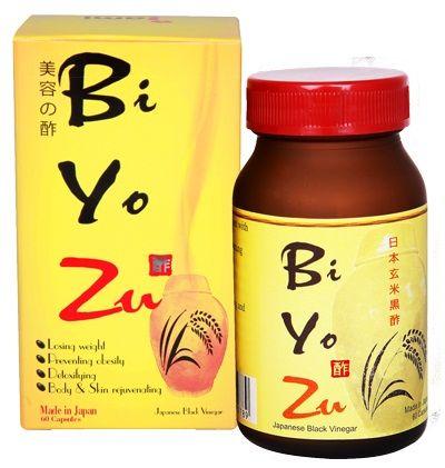 Giấm đen giảm cân Biyozu Nhật Bản chính hãng