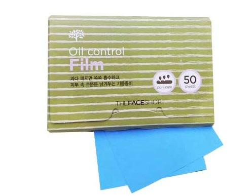 Giấy thấm dầu The Face shop 3M Oil control film