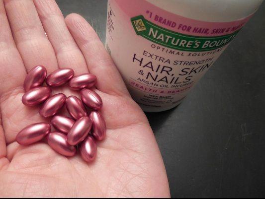 Hair skin nail Nature's Bounty dạng viên nang mềm