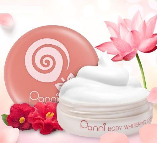 Kem dưỡng trắng da Panni Body Whitening Cream Hàn Quốc chiết xuất từ các nguyên liệu 100% thiên nhiên