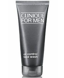 Sữa rửa mặt Clinique For Men™ Oil-Control Face Wash cho da hỗn hợp, da dầu, đến da mụn