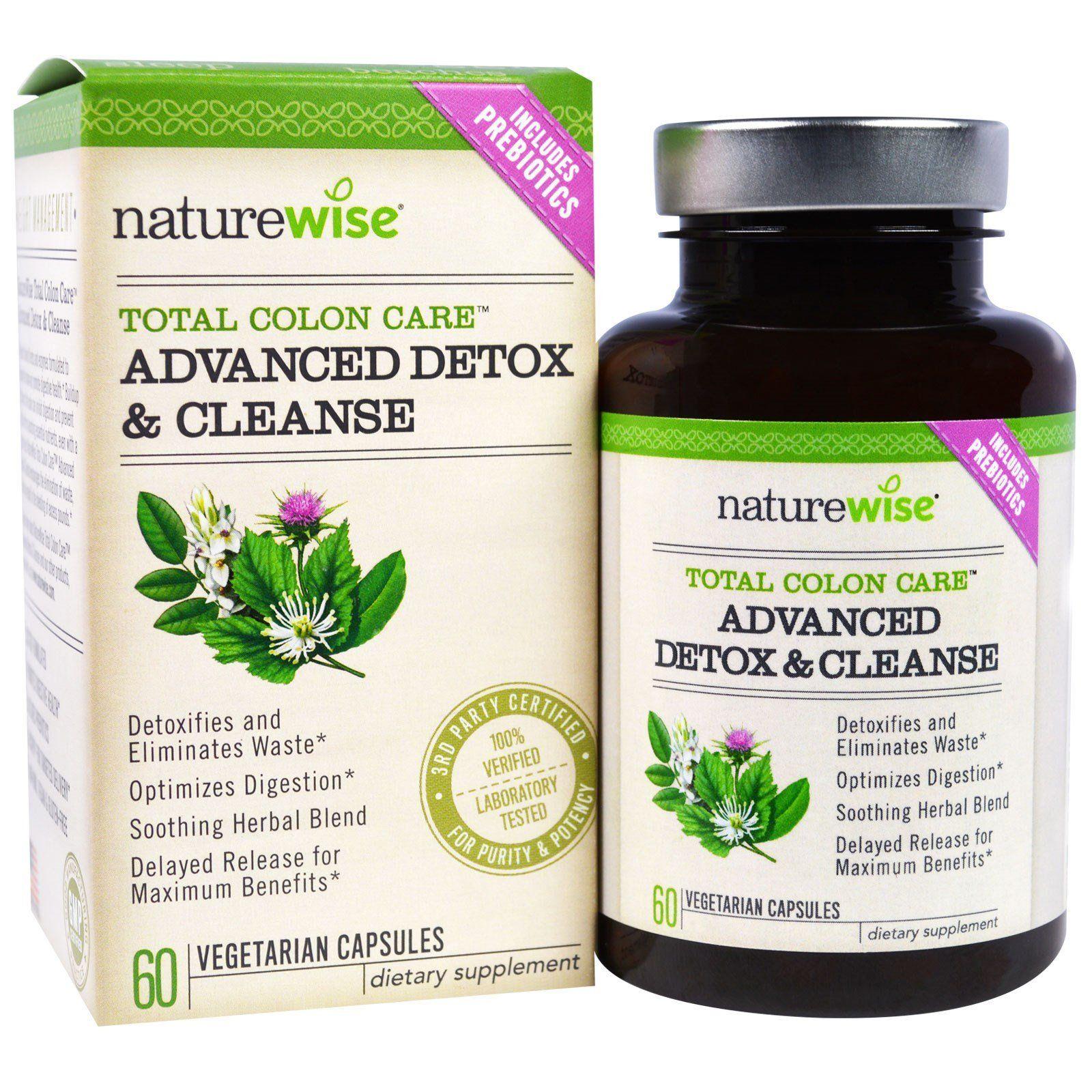 Viên uống thải độc Naturewise Advanced Detox & Cleanse
