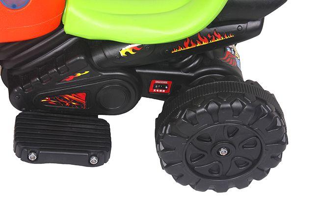 Xe máy điện cho bé hình bọ dừa