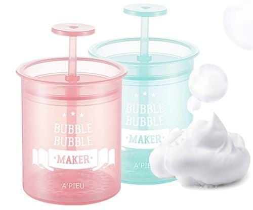 Dụng cụ tạo bọt sữa rửa mặt Apieu Bubble Bubble Maker giúp tạo bọt dễ dàng hơn