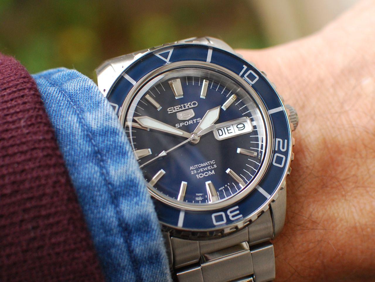 Chiếc đồng hồ Seiko nam trên tay cực chất