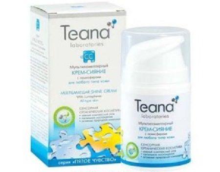 Kem dưỡng Teana CC của Nga dưỡng trắng da tự nhiên