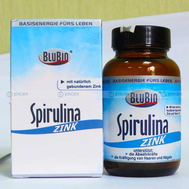 Tảo xoắn Spirulina Zink bổ sung kẽm 180 viên của Đức