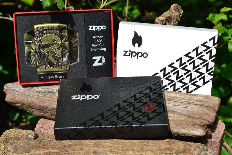 Zippo 29268 steampunk 360 multicut antique brass armor