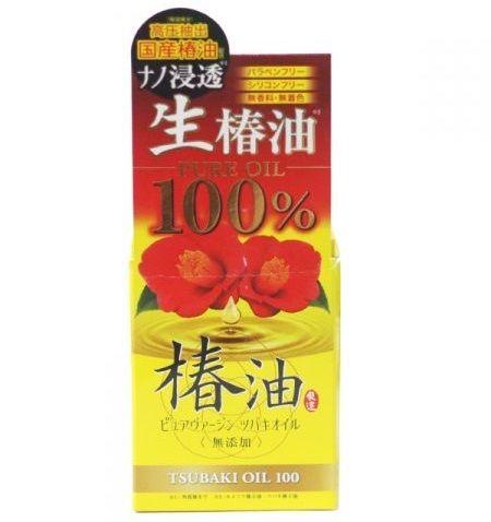 Tinh dầu hoa trà Tsubaki 47ml Nhật Bản dưỡng tóc và da 1