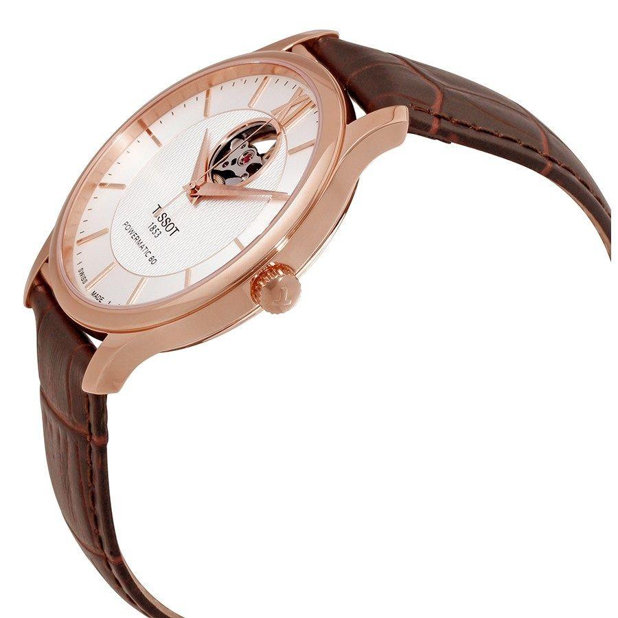 Case đồng hồ được mạ vàng hồng sang trọng, cao cấp