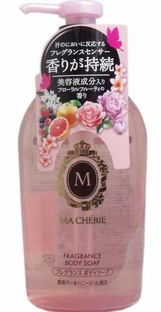 Sữa tắm trắng da Shiseido Ma Cherie được sản xuất theo công thức đặc biệt của Nhật