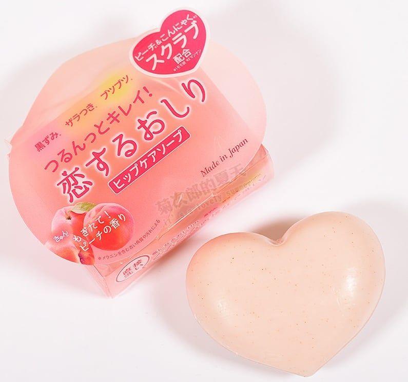 Xà phòng trị thâm mông Pelican Hip Care Soap của Nhật